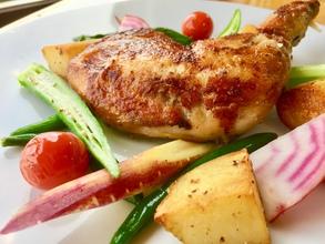 国産鶏もも肉のコンフィおすすめです!